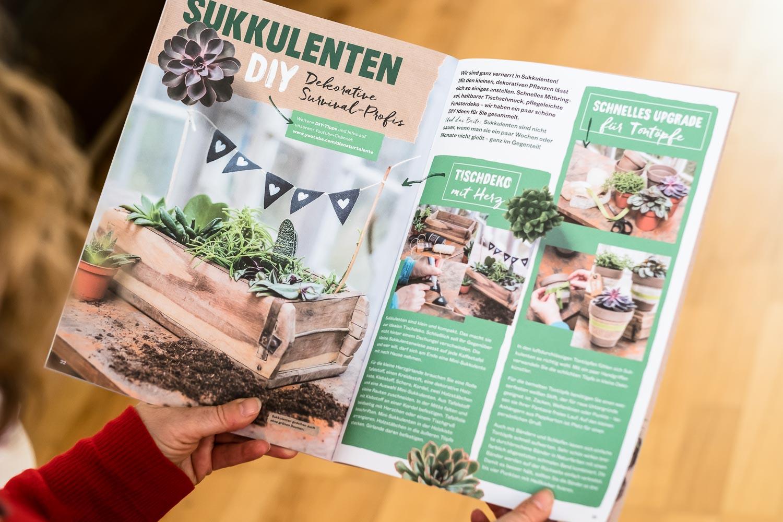 Konzept und Umsetzung Kundenmagazin DIY
